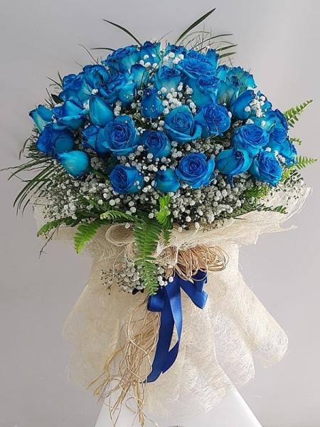 41 mavi gül